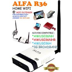 Alfa R36 Wifi Extender Diagram