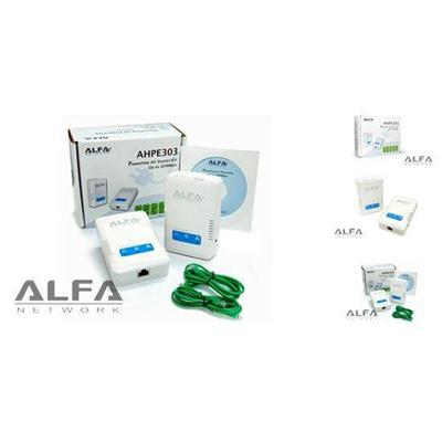 Alfa Network AHPE303 Starter Kit 200Mbps HomePlug AV PowerLine